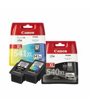 Canon PG-540XL BK + CL-541XL TriColor
